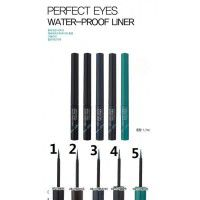 Perfect Eyes Water-Proof Liner 04 Sparkle Black - Водостойкая подводка