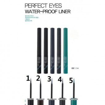 TonyMoly Perfect Eyes Water-Proof Liner 04 Sparkle Black - Водостойкая подводка