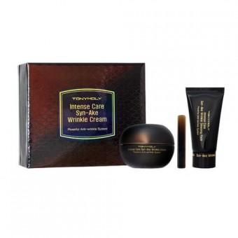 TonyMoly Intense Care Syn-ake Wrinkle Cream (+sleeping Pack) - Крем со змеиным ядом + маска (набор)
