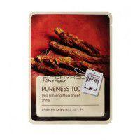 Pureness 100 Red Ginseng Mask Sheet - Маска с экстрактом красного женьшеня