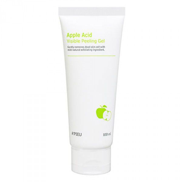 Купить Apple Acid Visible Peeling Gel - Пилинг-гель для лица с экстрактом яблока и AHA-кислотами, A'pieu