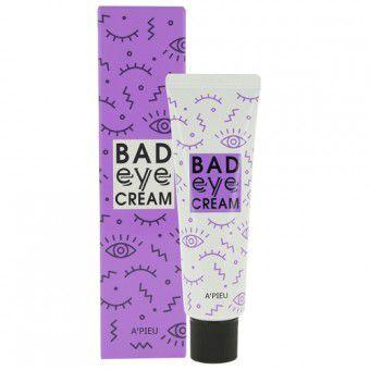 A'pieu Bad Eye Cream For Face - Антивозрастной крем для кожи вокруг глаз с экстрактом чёртова когтя