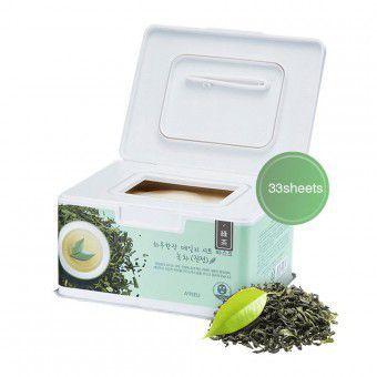 A'pieu Daily Sheet Mask Green Tea Soothing - Ежедневные успокаивающие маски с экстрактом зеленого чая