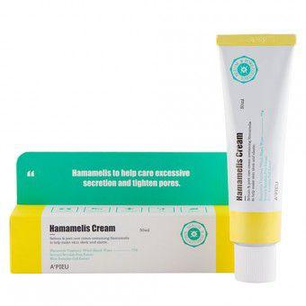 A'pieu Hamamelis Cream - Крем для лица с гамамелисом