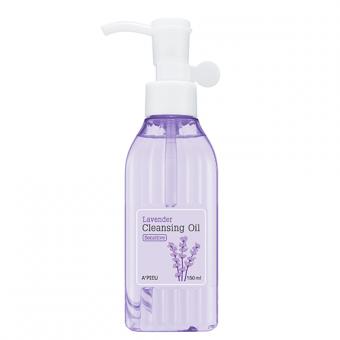 A'pieu Lavender Cleansing Oil Moist - Увлажняющее гидрофильное масло с лавандой