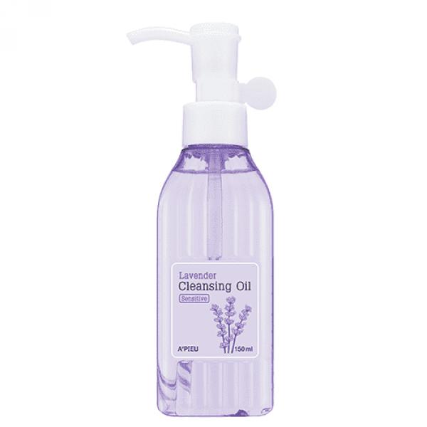 Купить Lavender Cleansing Oil Moist - Увлажняющее гидрофильное масло с лавандой, A'pieu
