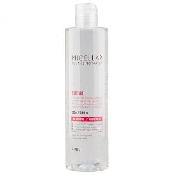 Купить Micellar Cleansing Water Moisture - Увлажняющая мицелярная вода, A'pieu
