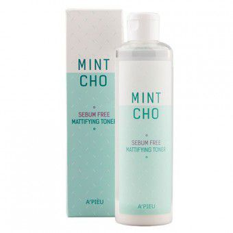 A'pieu Mint Cho Sebum Free Mattifying Toner -  Матирующий тонер