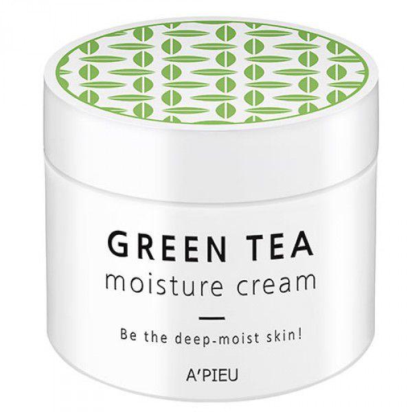 Green Tea Moisture Cream - Увлажняющий крем для лица с экстрактом зеленого чая