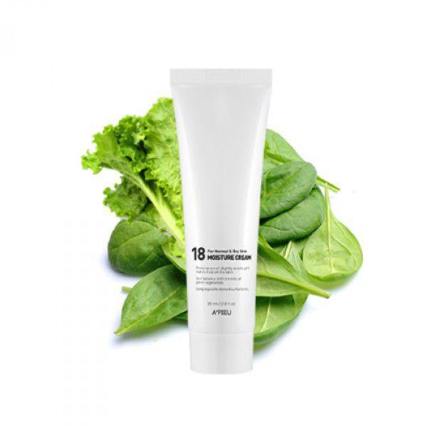 18 Moisture Cream For Normal & Dry Skin - Увлажняющий крем для нормальной и сухой кожи