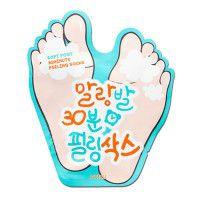 Soft Foot 30 Minute Peeling Socks - Отшелушивающие пилинговые носочки с АНА и ВНА кислотами