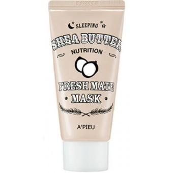 A'pieu Fresh Mate Mask (Nutrition Shea Butter Sleeping) - Ночная питательная маска для лица с маслом Ши