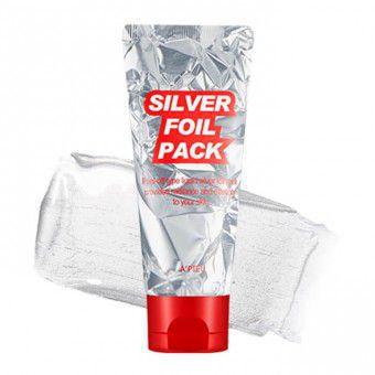 A'pieu Silver Foil Pack - Серебряная маска-фольга для лица