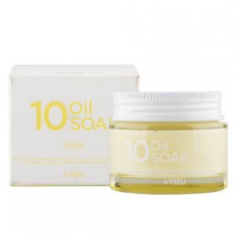 A'pieu 10 Oil Soak Cream - Интенсивный крем на основе 10 натуральных масел