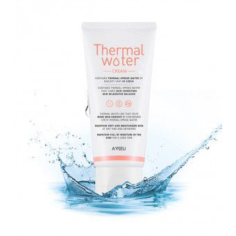 A'pieu Thermal Water Cream - Увлажняющий крем для лица