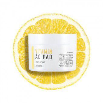 A'pieu Vitamin AC Pad - Пилинг-диски для лица с АНА и ВНА-кислотами и 6 витаминами