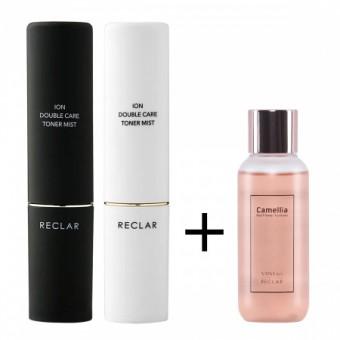 Reclar Camellia Soothing Essense + Ion Mist Sprayer SET - Набор ионный мист-распылитель + эссенция