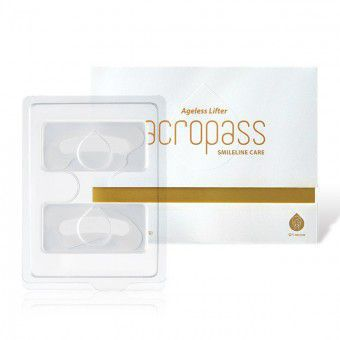 Acropass Ageless lifter-smileline - Патчи с микроиглами для устранения носогубных морщин