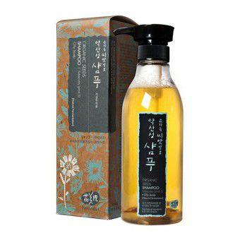Whamisa Organic Seeds Shampoo Subacidity (pH 4.5) Oily Scalp (Natural Fermentation)Шампунь на основе ферментов семян растений (для жирной кожи головы) -