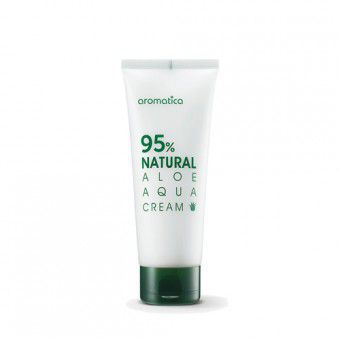 Aromatica 95% Natural Aloe Aqua Cream - Крем для лица с Алоэ увлажняющий