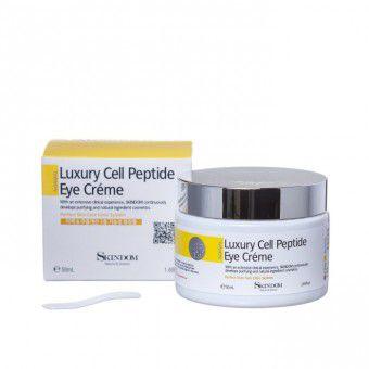 Skindom Luxury Cell Peptide Eye Cream - Крем для кожи вокруг глаз с элитными клеточными пептидами