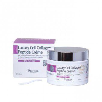 Skindom Luxury Cell Collagen Peptide Cream - Коллагеновый крем для лица с элитными клеточными пептидами