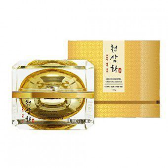 Deoproce Cheon Sam Hwa Oriental Cream - Антивозрастной крем с экстрактом корня женьшеня