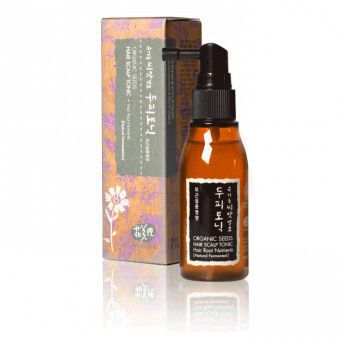 Whamisa Organic Seeds Hair Scalp Tonic Hair Root Nutrients (Natural Fermentation) - Тоник для кожи головы на основе ферментов семян растений
