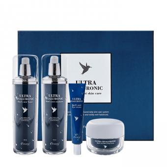 Esthetic House Ultra Hyaluronic Acid Bird's Nest Skin Care Set - Набор с экстрактом ласточкиного гнезда и гиалуроновой кислотой