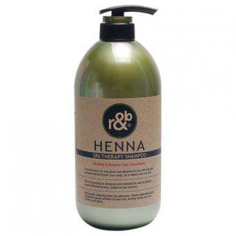 Woosin R&B Henna spa therapy Shampoo - Шампунь для волос с экстрактом хны
