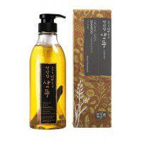 Organic Seeds Shampoo Subacidity (pH 4.5) Dry Scalp (Natural Fermentation) - Шампунь на основе ферментов семян растений (для нормальной и сухой кожи головы)