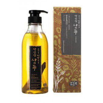 Whamisa Organic Seeds Shampoo Subacidity (pH 4.5) Dry Scalp (Natural Fermentation) - Шампунь на основе ферментов семян растений (для нормальной и сухой кожи головы)