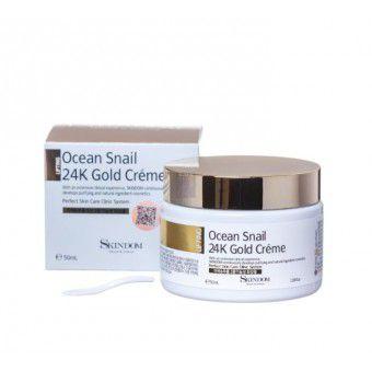 Skindom Ocean Snail 24K Gold Creme - Крем 24К Gold с экстрактом морской улитки