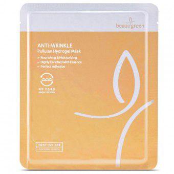BeauuGreen Anti-Wrinkle Pullulan Hydrogel Mask - Гидрогелевая маска антивозрастная с Пуллуланом