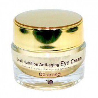 Co Arang Snail Nutrition Anti-aging eye cream - Антивозрастной крем для кожи вокруг глаз с экстрактом слизи улитки
