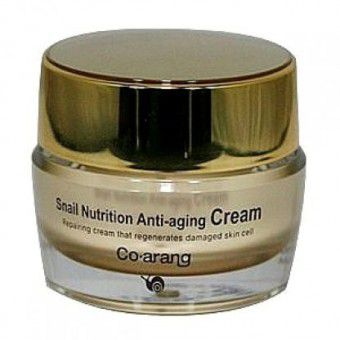 Co Arang Snail Nutrition Anti-aging cream - Антивозрастной крем для лица с экстрактом слизи улитки
