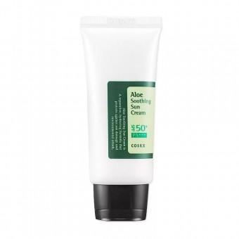 CosRX Aloe Soothing Sun Cream SPF50 PA+++ - Солнцезащитный крем с экстрактом алоэ
