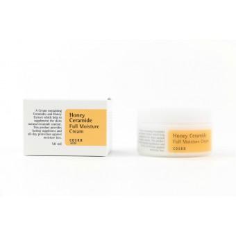 CosRX Honey Ceramide Full Moisture Cream - Увлажняющий крем для лица с экстрактом мёда мануки