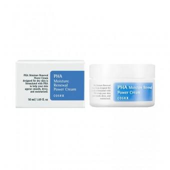 CosRX PHA Moisture Renewal Power Cream - Увлажняющий крем для лица с полигидроксикислотами