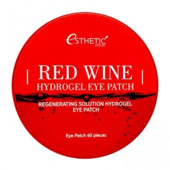 Esthetic House Red Wine Hydrogel Eye Patch - Гидрогелевые патчи для глаз с экстрактом красного вина