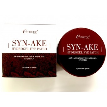 Esthetic House Syn-Ake Hydrogel Eye Patch - Гидрогелевые патчи для кожи вокруг глаз со змеиным ядом
