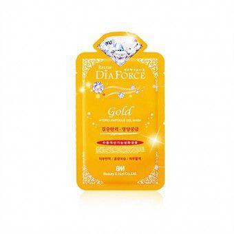 Dia Force Rearar Gold Hydro Ampoule Gel - Гидрогелевая маска для лица с коллоидным золотом
