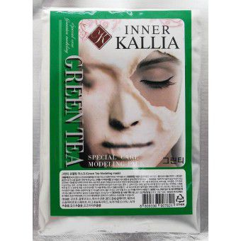 Inner Kallia Green Tea modeling mask - Альгинатная маска c зеленым чаем