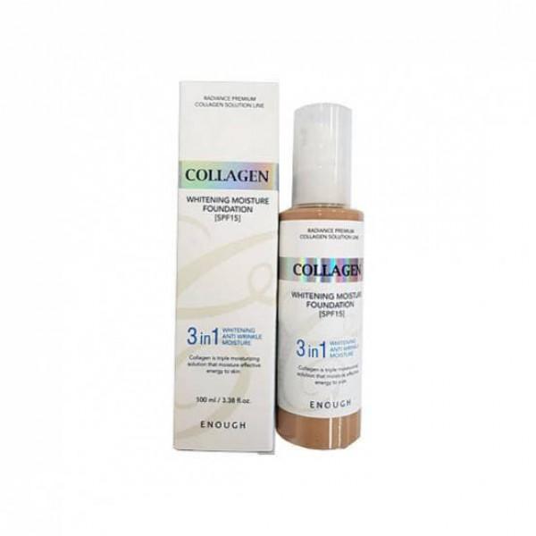Collagen Whitening Moisture Foundation SPF 15 (№ 13) - Отбел