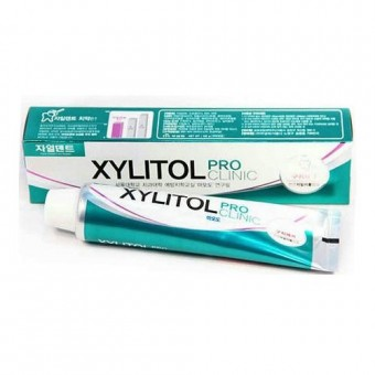 Mukunghwa Xylitol Pro Clinic Herb Fragrant-Green Color - Зубная паста с лекарственными травами