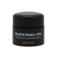 Black Snail Prestige Sleeping Pack - Маска ночная для лица с муцином черной улитки