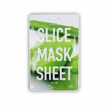 Kocostar  Slice mask sheet (aloe) - Тканевые маски-слайсы с экстрактом алоэ