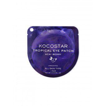 Kocostar  Tropical Eye Patch (Acai Berry) Single - Гидрогелевые патчи для кожи вокруг глаз с экстрактом ягод Асаи