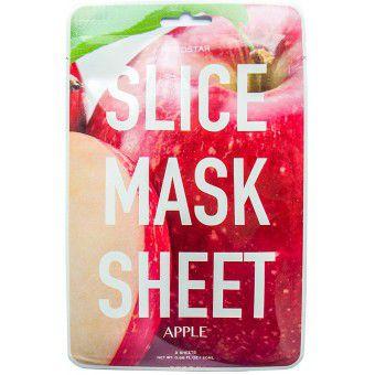 Kocostar  Slice mask sheet (apple) - Тканевые маски-слайсы с экстрактом яблока