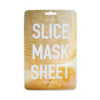 Slice mask sheet (banana) - Тканевые маски-слайсы с экстрактом банана